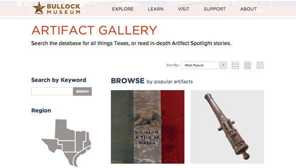 Browse the Artifact Gallery
