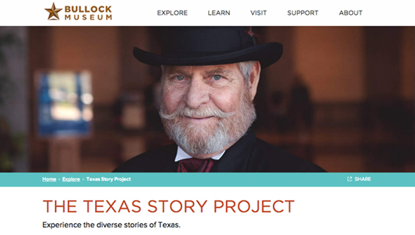Experience the Texas Story Project